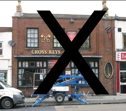 Cross Keys Fishponds